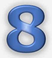 Character Root Number 8