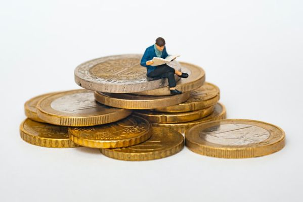 How To Evaluate Company Management - Figurine Man Studying on Top of Coins