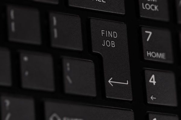 How To Evaluate Company Management - Keyboard with Find Job Key
