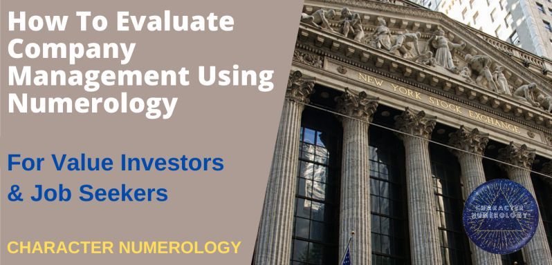 How To Evaluate Company Management