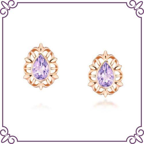 Amethyst Crystal Healing Properties - Amethyst Summer Court Earrings - jeoel