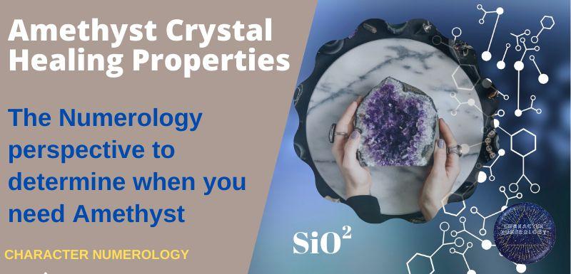 Amethyst Crystal Healing Properties