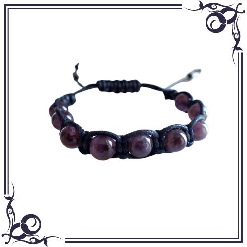 LAleTA - Amethyst Bracelet for Men