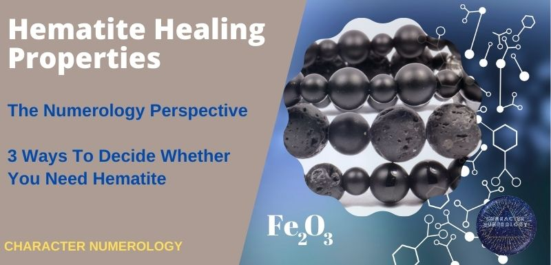 Hematite Healing Properties