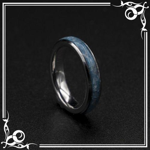 Aquamarine Crystal Meaning - Aquamarine ring men, Healing crystal ring - 1