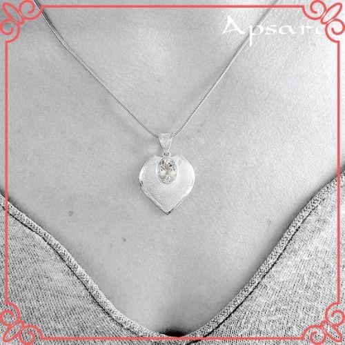 Aquamarine Crystal Meaning - Aquamarine Pendant, Natural White Blue Gemstone - 3