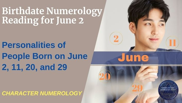 Birthdate Numerology Reading for June 2