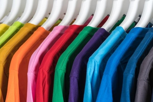 Numerology of Colours - Coloured T-Shirts