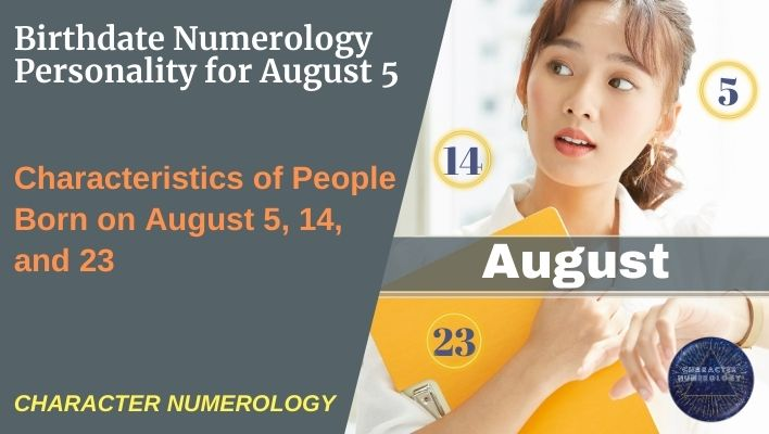 Birthdate Numerology Personality for August 5