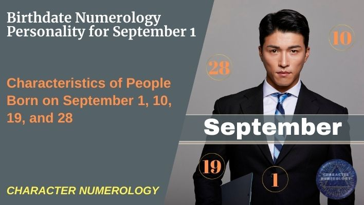 Birthdate Numerology Personality for September 1