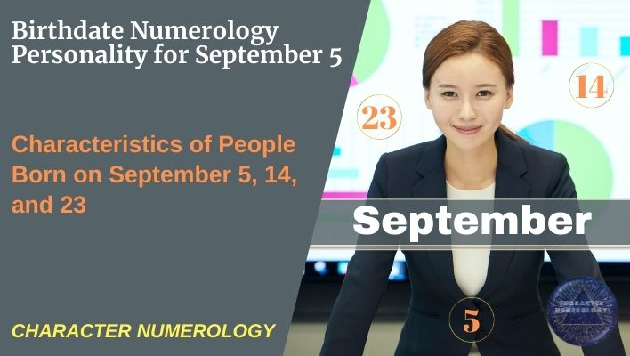 Birthdate Numerology Personality for September 5